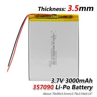 357090P 3000MAH BATTERY SCS TAB CHINESE