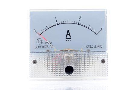 3A ANALOG AMMETER MULTI TESTER