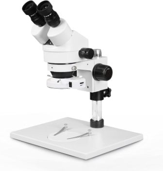7X-45X WHITE STEREO MICROSCOPE CELLPARTS.LK