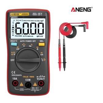 ANENG AN8002 TRUE RMS 6000 COUNTS MULTI TESTER