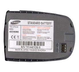 X650 BATTERY SAMSUNG