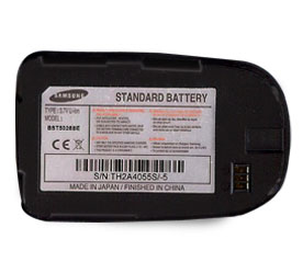 X660 BATTERY SAMSUNG