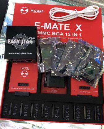 Z3X BOX EASY JTAG BOX + E-MATE EMMC ADAPTERS 13IN1
