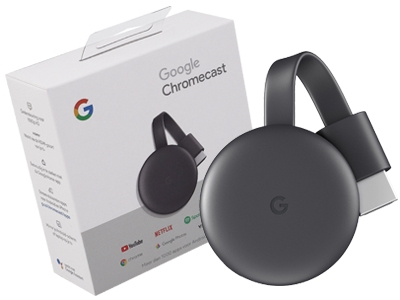GOOGLE CHROMECAST 4K HDMI MEDIA STREAMING DEVICE