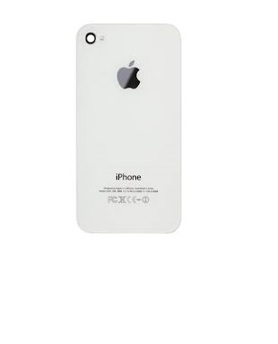 4G HOUSING WHITE BACK COVER APPLE ORG