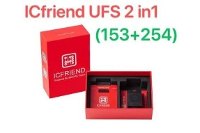 ICFRIEND UFS 2IN1 SOCKET SUPPORT BGA153 BGA254