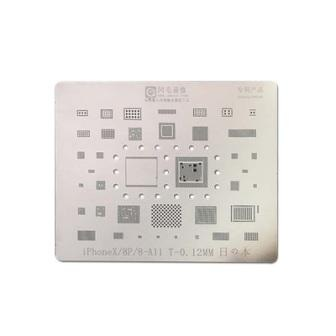 IPHONE 8 IC REBALLING PLATE BGA REWORK STENCIL