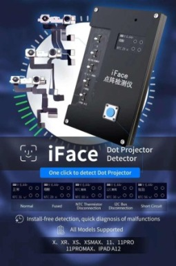 MAGICO IFACE FACE DOT PROJECTOR DETECTOR