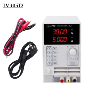 IV305D 4 DIGIT 33V 5.5A OVP OCP POWER SUPPLY