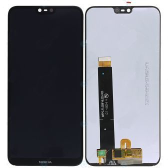 6.1 PLUS LCD COMPLETE BLACK NOKIA