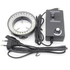 56 LED MICROSCOPE LAMP RING WITH CONTROL