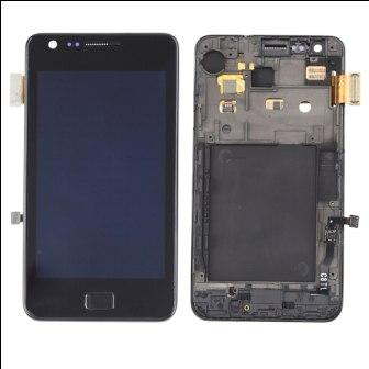 I9100 LCD BLACK WITH FRAME SAMSUNG