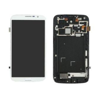 I9200 LCD WHITE COMPLETE SAMSUNG