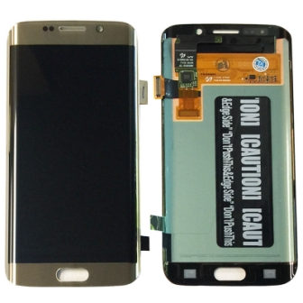 S6 EDGE LCD GOLD SAMSUNG
