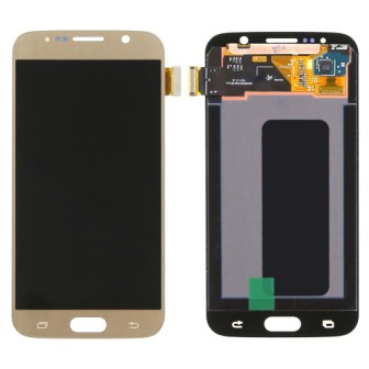 S6 LCD GOLD SAMSUNG