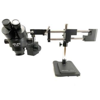 M3T-STL2 BLACK DOUBLE ARM MICROSCOPE RELIFE