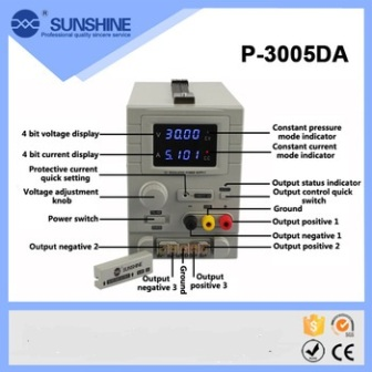 30V 5A P-3005DA PROFESSIONAL POWER SUPPLY