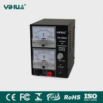 1502A YIHUA POWER SUPPLY ANALOG
