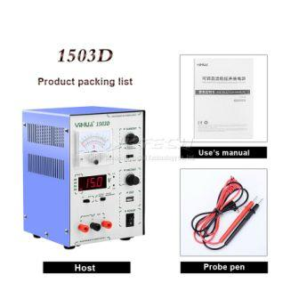 1503D 3AMP POWER SUPPLY DIGITAL