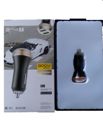 QCAC30B CAR CHARGER QOOVI