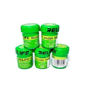 RL-402 HIGH QUALITY SOLDER PASTE/ FLUX RELIFE