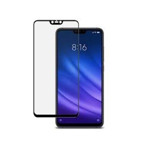 MI8LITE BLACK 4D SCREEN GUARD XIAOMI