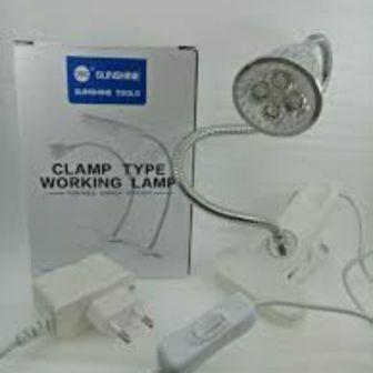 SS-802 CLIP-ON LED LAMP SUNSHINE( NO PACKING BOX)