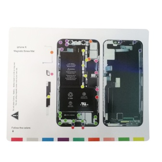 IPHONE X YAXUN PROFESSIONAL MAGNETIC SCREW MAT