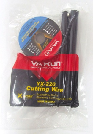 YX220 -0.04MM CUTTING WIRE SET WITH HANDLE