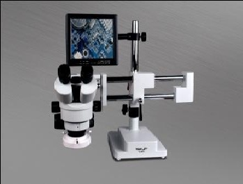YX AK31 MICROSCOPE WITH USB CAMERA & LCD